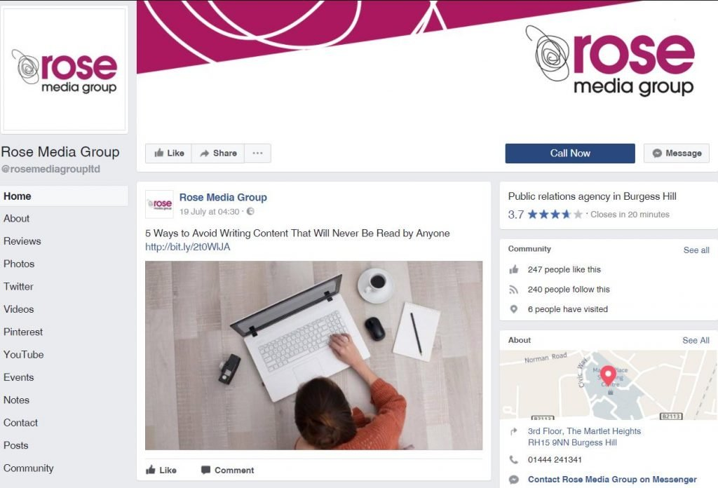 5 Top tips for using Facebook for business