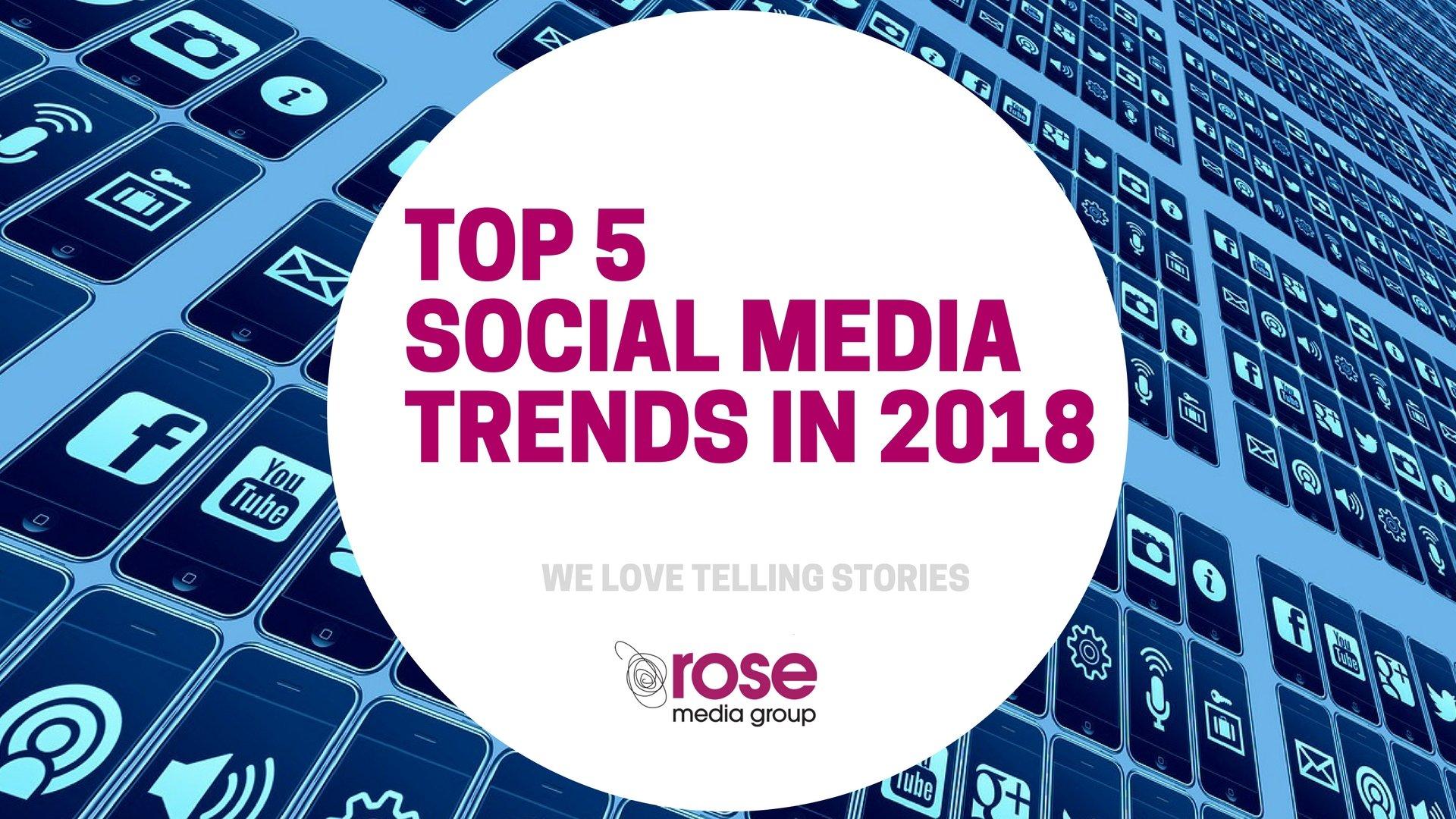 Technology Management Image: Social Media Trends On 2018